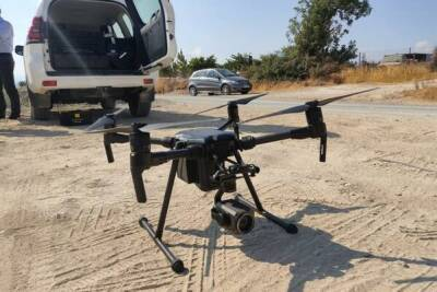 На Кипре дрон зафиксировал случай поджога травы