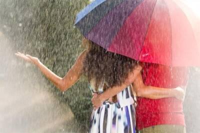 В среду ожидается дождь с небольшим понижением температуры