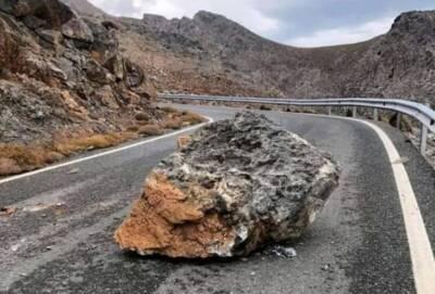 Мощное землетрясение на Крите. Возможно цунами