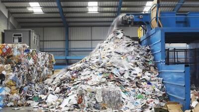 Заводы по переработке мусора приостановят работу