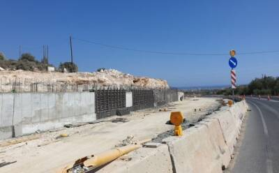 Как строят трассу Лимассол-Саиттас (фото)