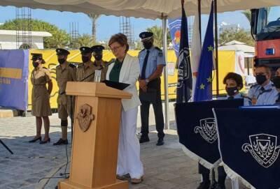 В Айя-Напе прошел День знакомства с полицией (фото)