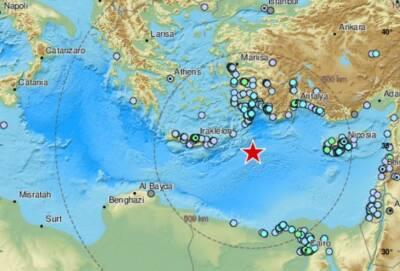 Сильное землетрясение в Восточном Средиземноморье. Его почувствовали на Кипре