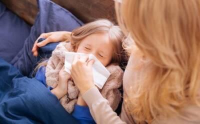 Как защитить ребенка от пневмонии и гриппа