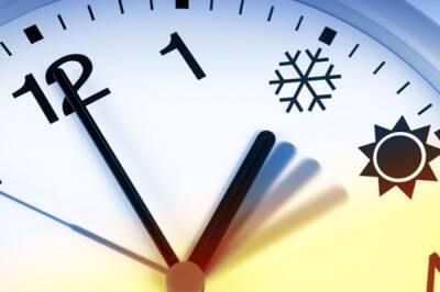 Кипр: переход на зимнее время