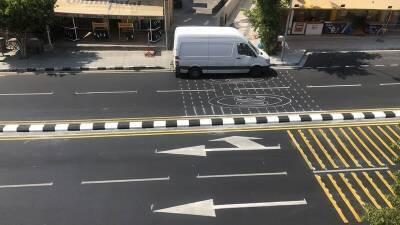 Дороги Лимассола разделят полосами безопасности