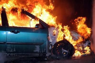Этой ночью в Лимассоле сожгли автомобиль!