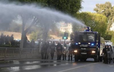 Полиция Кипра получит пять новых бронированных машин для подавления массовых беспорядков