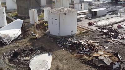 В Ларнаке демонтировали нефтехранилище