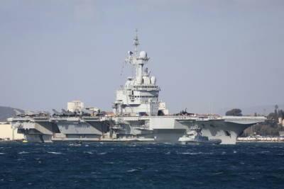 В порт Лимассола зашел атомный авианосец «Шарль де Голль»