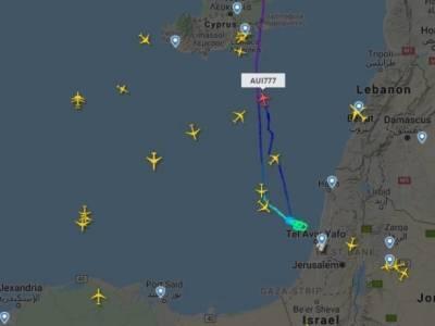 Рейсы МАУ из Киева в Тель-Авив развернулся и направился на Кипр из-за обстрелов