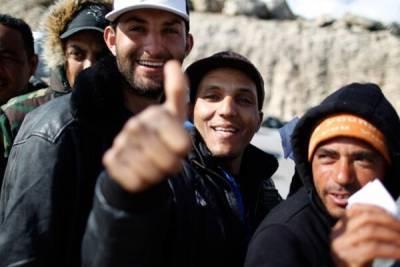 На Кипре высадилась новая партия беженцев