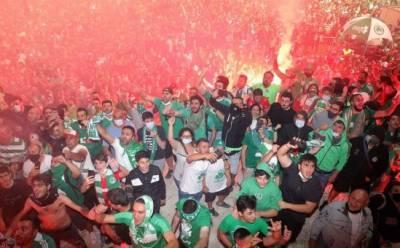 Ограничительные меры — не для футбольных фанатов