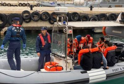 В Ларнаку приплыли 40 беженцев