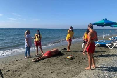 В Лимассоле прошли тренинги для спасателей на водах