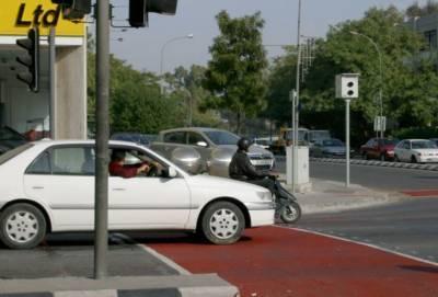 В октябре на дорогах Кипра появятся четыре камеры слежения за нарушителями ПДД