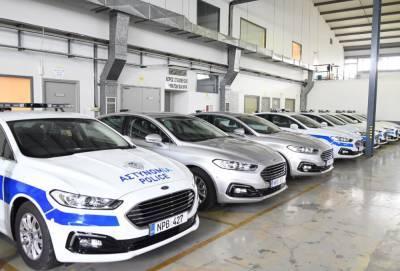За пять лет полиция Кипра приобрела 632 автомобиля и мотоцикла