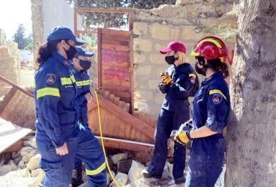 Глава минюста Кипра приняла участие в учебной спасательной операции