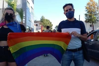 В северной части Никосии прошел ЛГБТ-парад