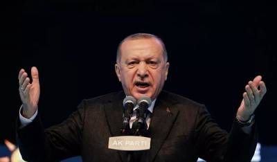 Эрдоган анонсировал послание ко всему миру на Северном Кипре