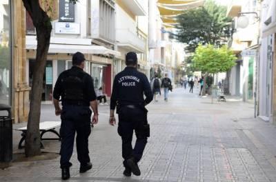 Кипр: за 24 часа полиция наложила 143 штрафа