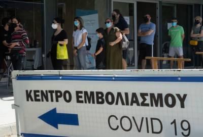В кипрских центрах вакцинации не хватает медсестер. Прививку делают за полторы минуты вместо трех-четырех