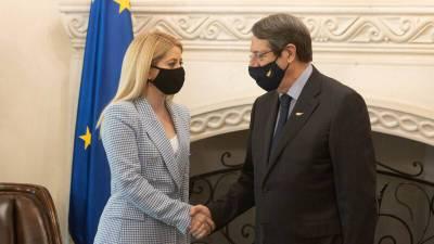 Председателем кипрского парламента впервые стала женщина