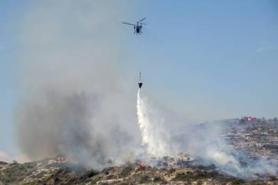 Лимассол: пожар в районе Паракклиша потушен