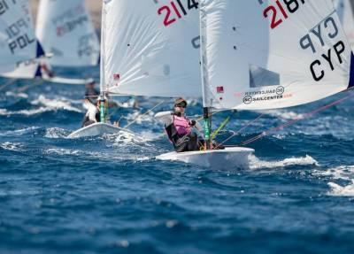 Кипрская яхтсменка получила золотую медаль на чемпионате Европы