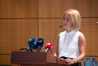 Министр юстиции Кипра Эмили Йолити ушла в отставку