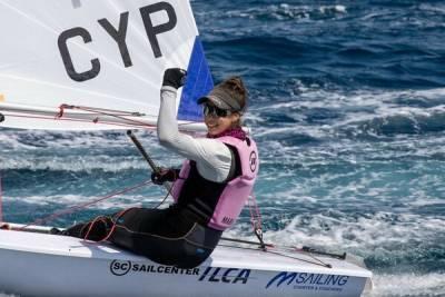 Киприотка победила в соревнованиях по яхтингу в Черногории