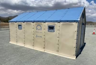Польша подарила Кипру 80 сборных домиков для беженцев (фото)