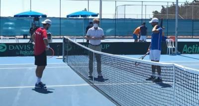 Сборная Грузии по теннису проиграла Кипру на Кубке Дэвиса