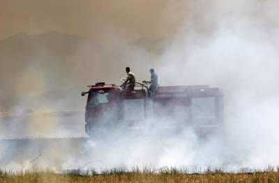 Дым от пожара в Ипсонас накрыл часть Лимассола