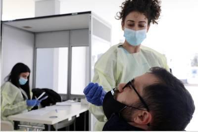 Количество новых случаев Covid-19 на Кипре не превышает 70 в сутки