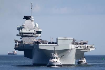 Британский авианосец Queen Elizabeth 30 июня на пять дней пришвартуется на Кипре