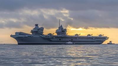 Флагман Королевского флота зайдет на Кипр