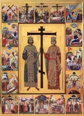 3 июня – память равноапостольного царя Константина Великого и его матери святой царицы Елены