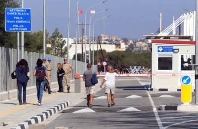 Открытие контрольно-пропускных пунктов на Кипре