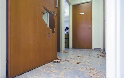 Беженцы разгромили офис социальной службы в Лимассоле