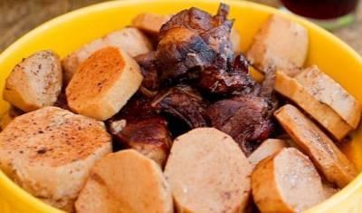 Рецепты ВК: капамас с колоказией