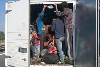 В ТРСК прибыл грузовик с грузом мигрантов