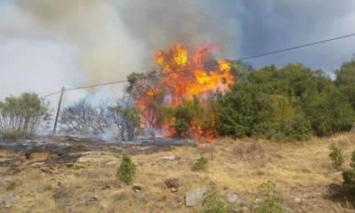 В Никосии одновременно вспыхнули два пожара