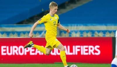 Зинченко признан «Львом матча» против Кипра