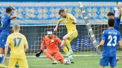 Сборная Украины в новой форме разгромила команду Кипра и взяла курс на Евро в Амстердам