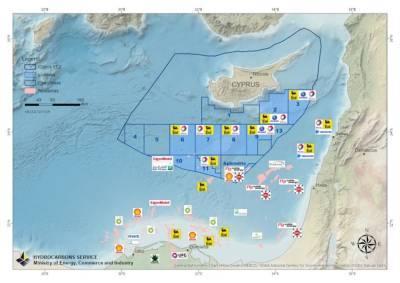 ExxonMobil возобновит буровые работы на Кипре в конце этого года