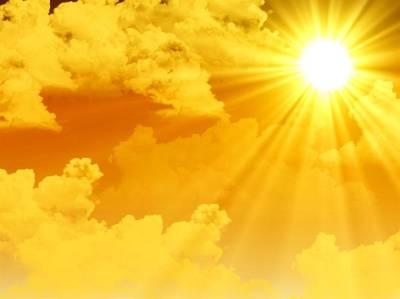 Снова желтое предупреждение о высоких температурах