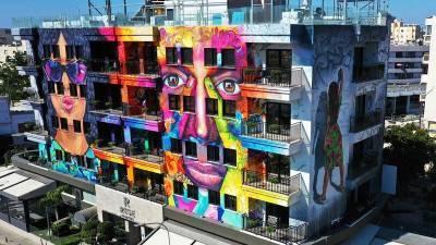 В июле в Ларнаке открылся первый граффити-отель