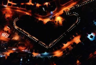 Вот такой видят Никосию ночные птицы! Фото столицы Кипра после заката