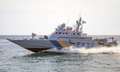 Турецкая береговая охрана преследовала кипрский патрульный катер и стреляла по нему